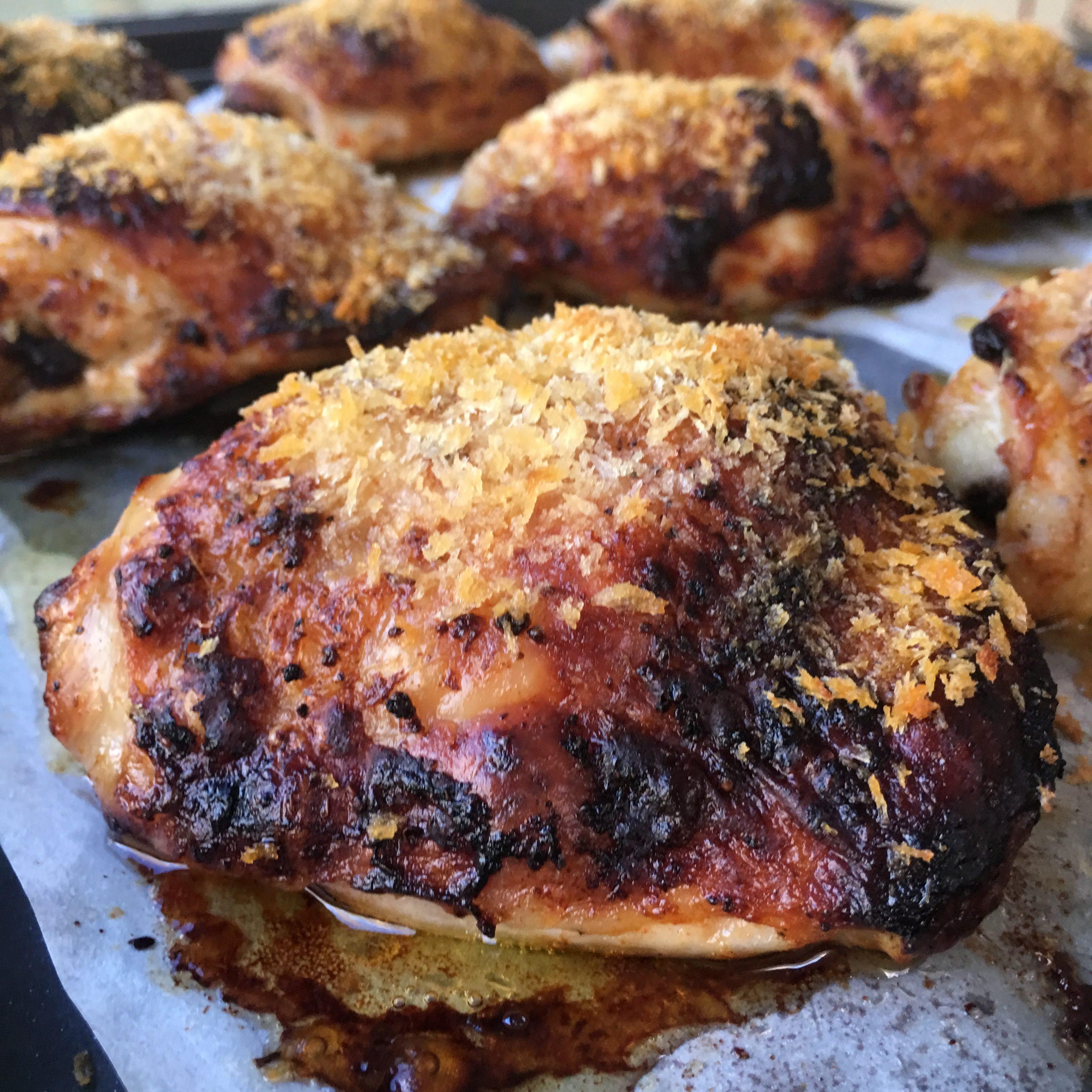 'Fried' Buttermilk Chicken Thighs